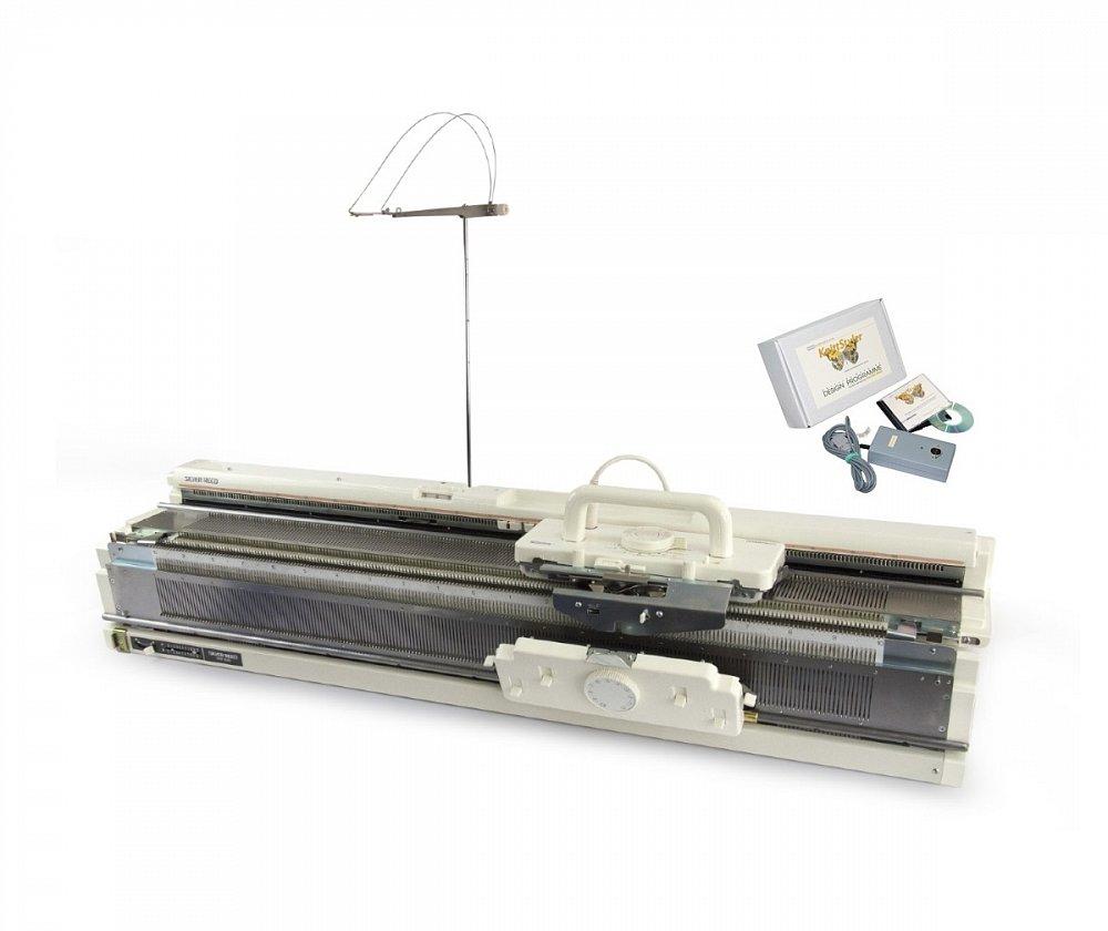Двухфонтурная вязальная машина Silver Reed SK 840/SRP 60N + ПО Knit Styller USB