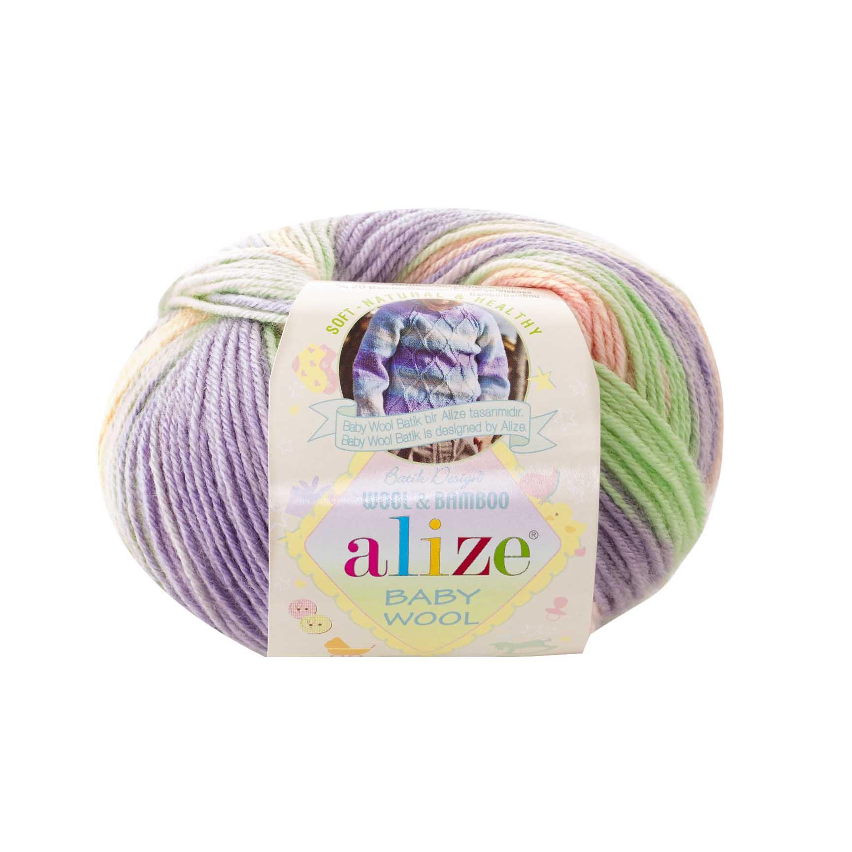 Пряжа Baby wool Batik