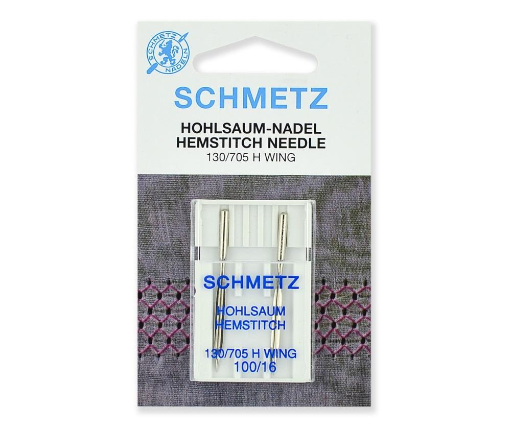 Иглы Schmetz для мережки № 100, 2 шт.