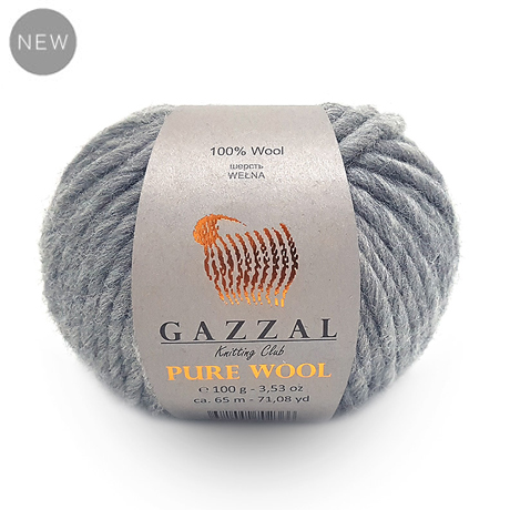 Пряжа Gazzal Pure wool