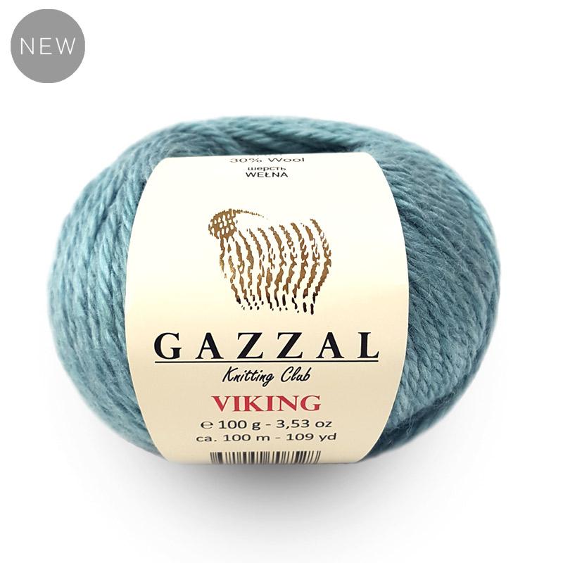 Пряжа Gazzal Viking